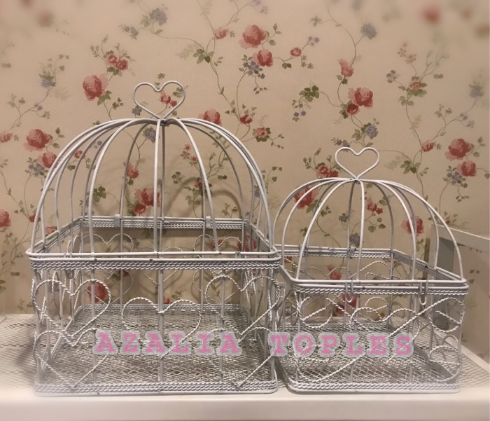 harga Dekorasi sangkar burung kotak / sangkar burung hias / dekorasi shabby Tokopedia.com