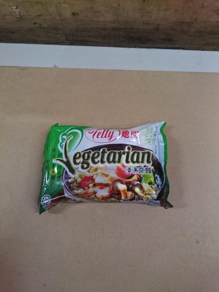Jual Mie Telly Vegetarian 80 Gr Dki Jakarta Haryanto Tokopedia