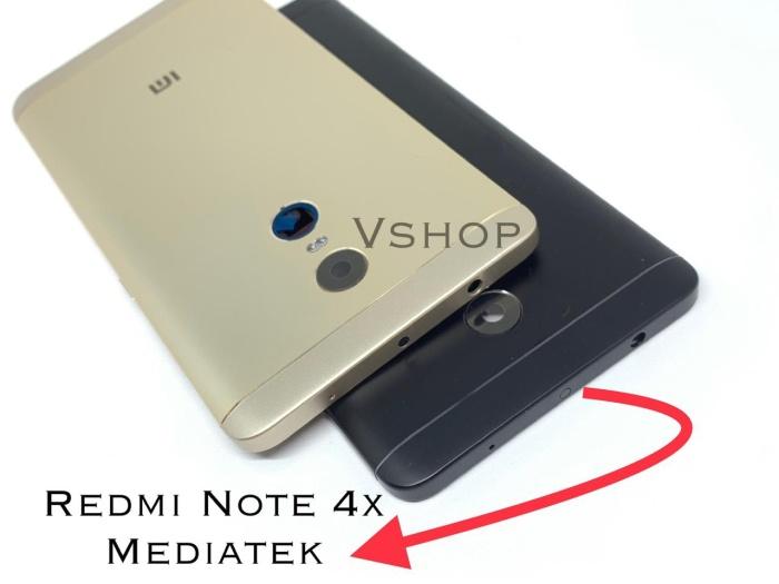 Foto Produk Backdoor Tutupan Baterai Casing Belakang Redmi Note 4X Mediatek MTK - Kuning dari vshop sparepart
