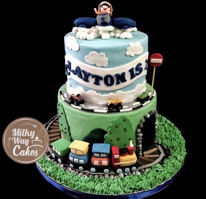Jual Fondant Birthday Cake Jakarta Barat Mikkyway Cakes Tokopedia