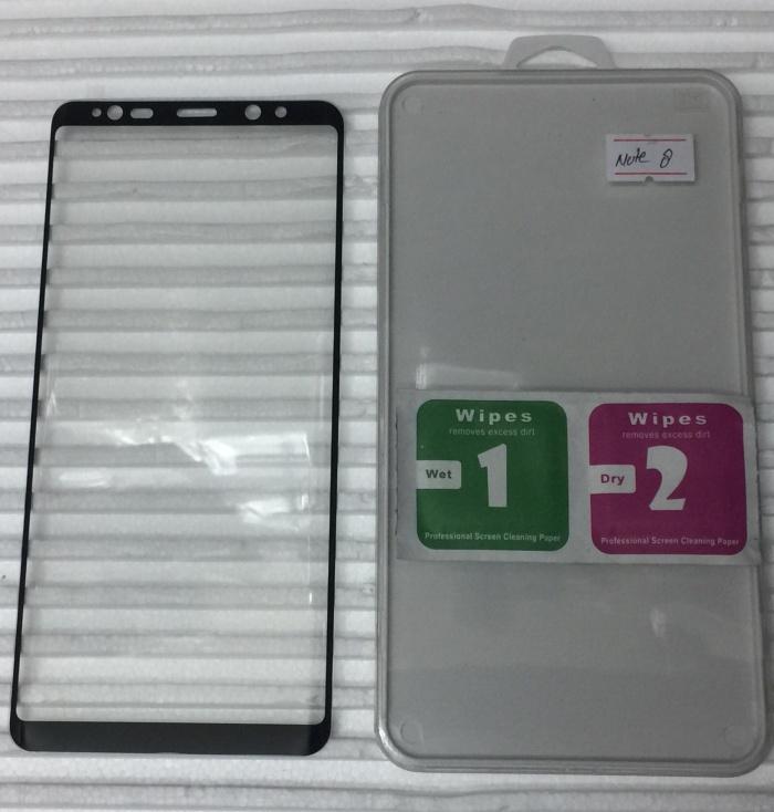 Foto Produk Tempered Glass 3D For Samsung Note 8 Curved Black dari Asia_com