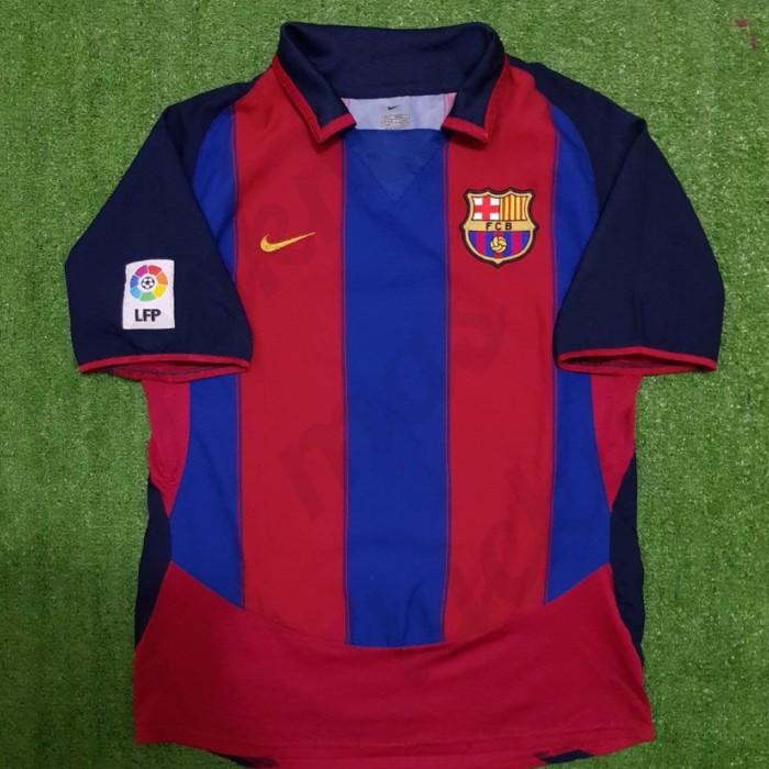 new style de41c b7a96 Jual Home Kit Barcelona Football Club 2003/2004 Original Nike - DKI Jakarta  - ipendutreviews   Tokopedia