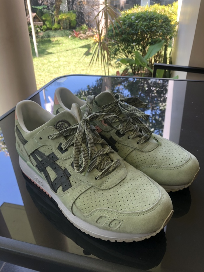 "sneakers for cheap 9f13c ccf73 Jual ASICS X END GEL-LYTE III ""WASABI"" - Kota Malang - slidestore |  Tokopedia"