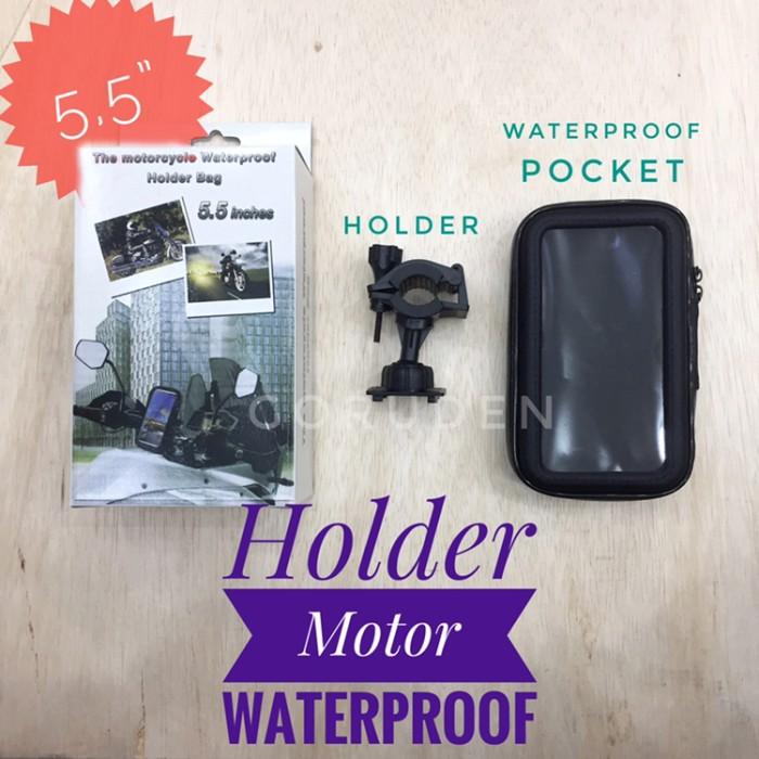 "harga Waterproof holder motor 55"" Tokopedia.com"