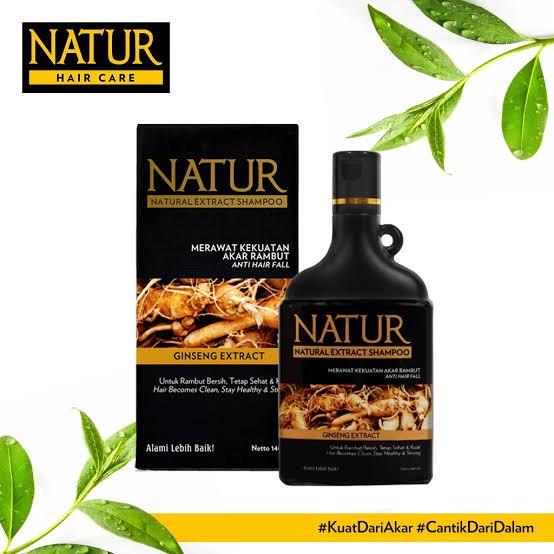 Foto Produk NATUR Shampoo Ginseng 80ml dari J-Selectiv Kosmetik