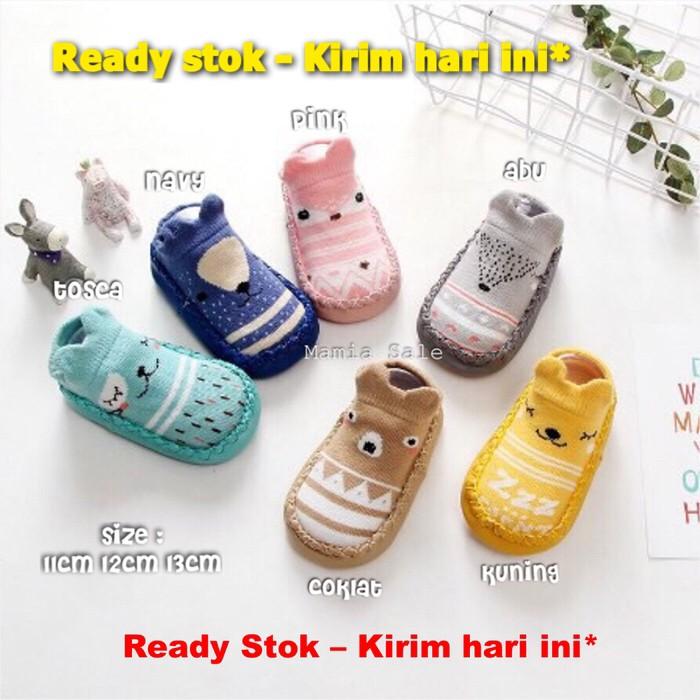 Foto Produk Baby prewalker sepatu bayi korea kaos kaki booties skidder skidders dari Mamia Sale