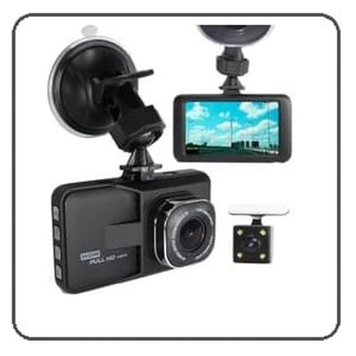 harga Kamera mobil / dash cam camcorder double lensa depan belakang full hd Tokopedia.com
