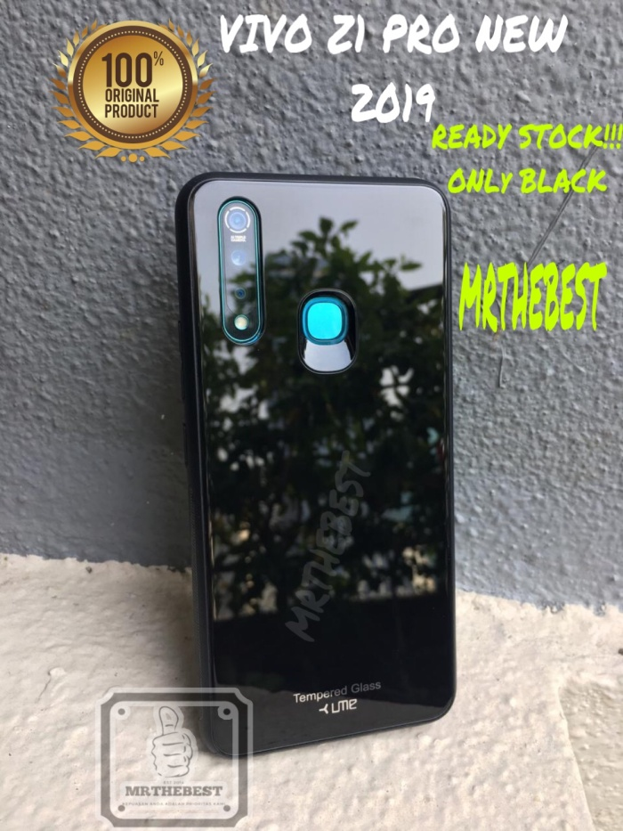 Foto Produk VIVO Z1 PRO UME TEMPERED GLASS HARD CASE COLOR LUXURY BACK COVER dari MrThebest