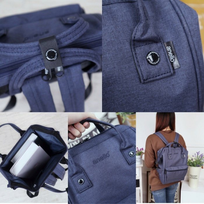 Foto Produk Anello Oxford Backpack Mini 8264 dari Vhibags