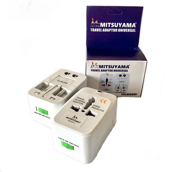 Foto Produk Universal Travel Adaptor   Steker Colokan Serbaguna Internasional dari NAGA ELECTRIC