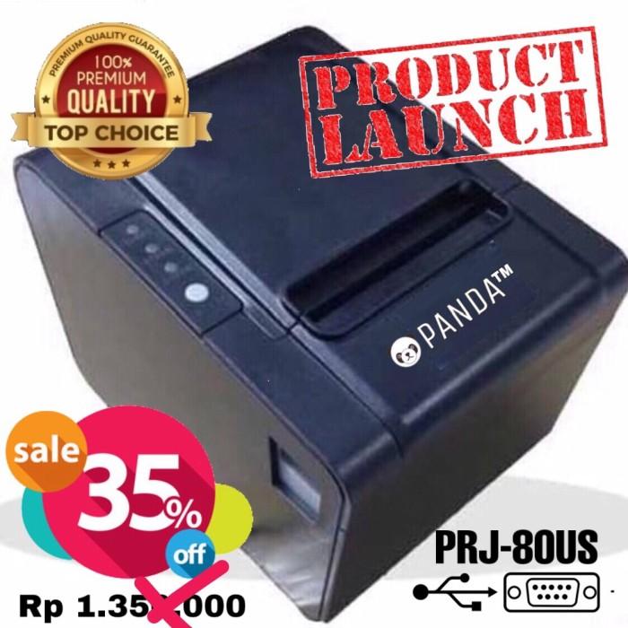 Foto Produk POS MINI PRINTER KASIR 80MM THERMAL PANDA PRJ-80US(USB+SERIAL+CUTTER) dari PANDA RETAIL SOLUTIONS