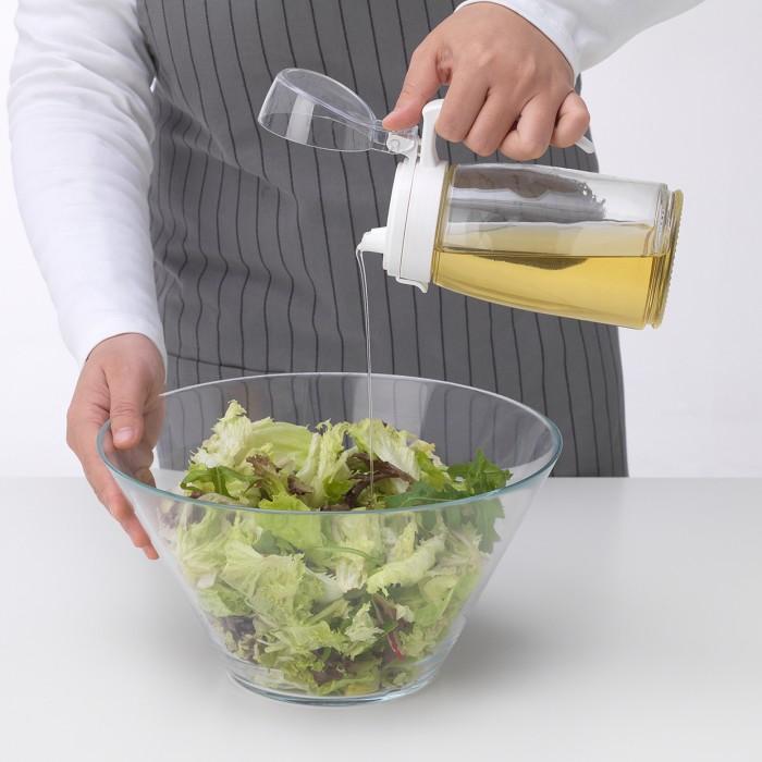 Foto Produk Olive Oil Decanter Salad Dressing Bottle Botol Minyak Apple Vinegar dari Earth Apothecary