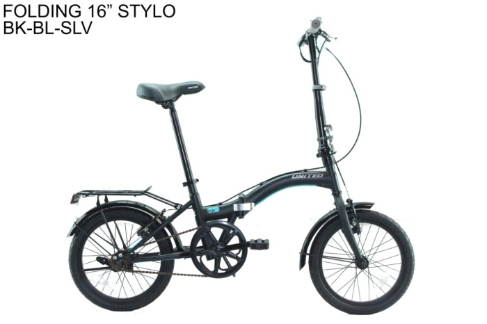 harga Sepeda lipat / folding bike united stylo 16  new model terbaru Tokopedia.com