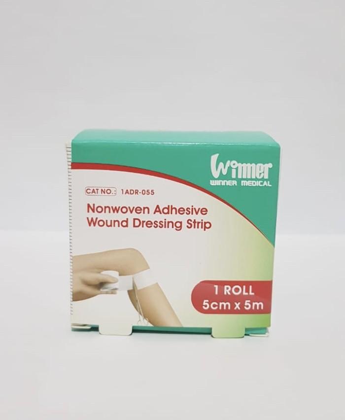 Foto Produk Winner Plester Luka Nonwaven Adhesive wound uk. 5cm x 5m dari Gudang Sehat Store
