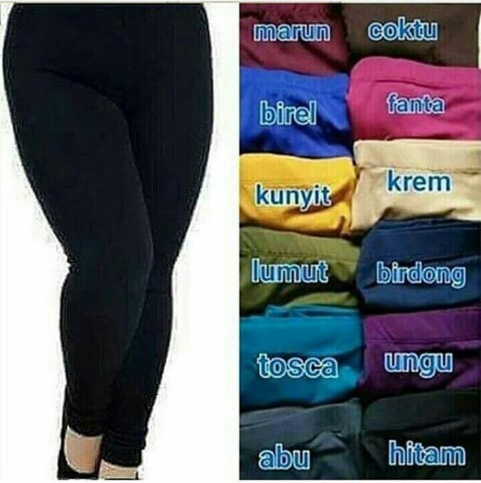 Jual Celana Legging Wanita Ukuran Jumbo Kota Depok Sps Fashion Tokopedia