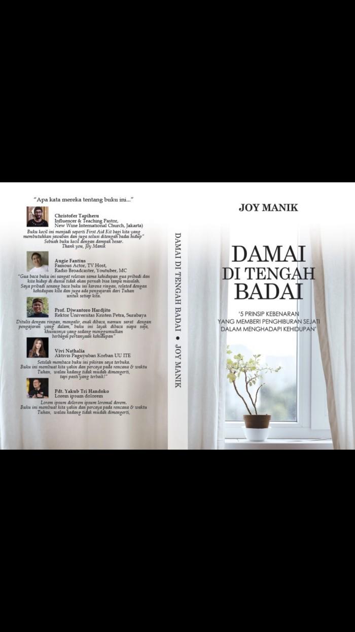 Jual Buku Damai Ditengah Badai Devotion Kota Surabaya Deonel