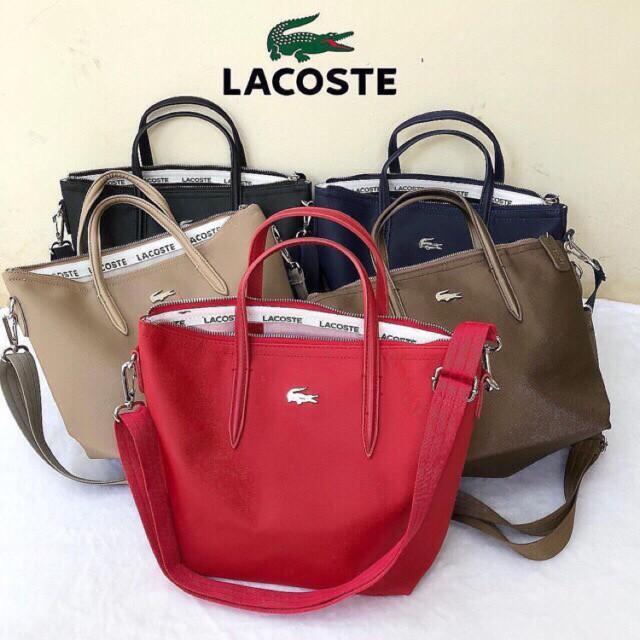 Foto Produk Tote Bag LACOSTE Tas Wanita Original Import dari Lin weishop15