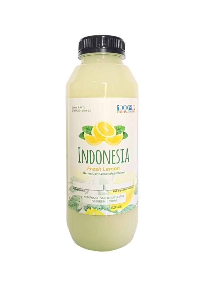 Foto Produk Indonesia Fresh Sari Lemon (500ml) dari alamudhy Properti
