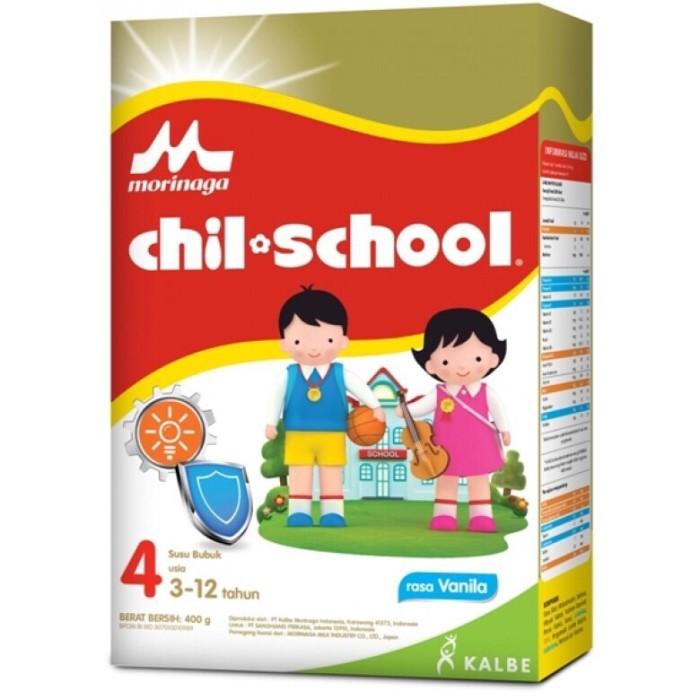 Foto Produk Chil School Vanila 400 gr Reguler Chilschool Tahap 4 Morinaga dari Anugerah Underwear