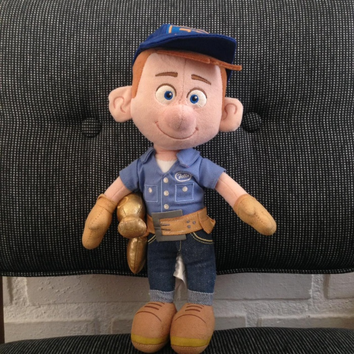 Foto Produk Fix it felix doll original disney store plush soft toys dari Retroactive