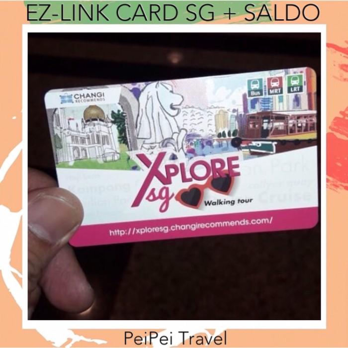Jual Kartu Mrtbus Ez Link Card Singapore Murah Kota Tangerang Peipei Travel Os Tokopedia