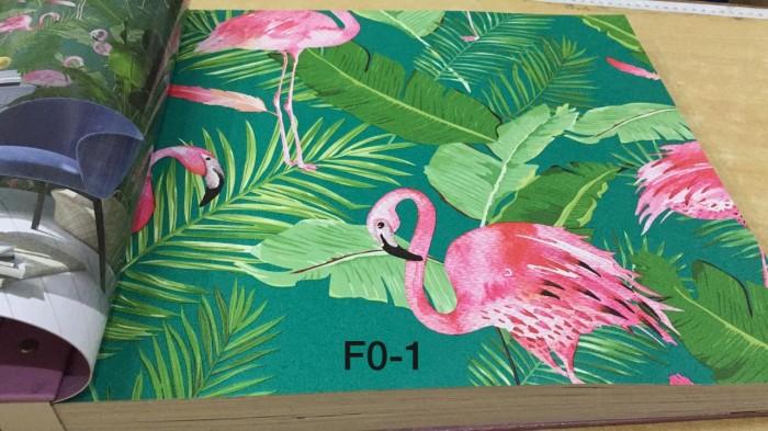 Jual Wallpaper Dinding Motif Burung Flamingo 3d Fl Kota Bekasi
