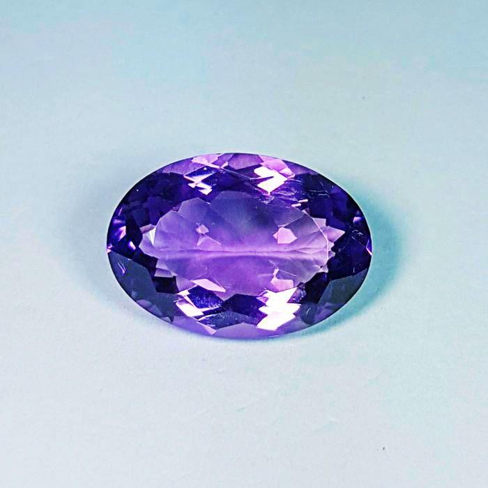 harga Natural amethyst light purple grade aaa 14x10x8mm batu mulia gemstone Tokopedia.com