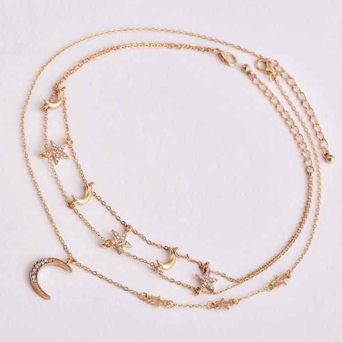 Foto Produk Moonlight Necklace | kalung impor aksesoris wanita dari Neve Label