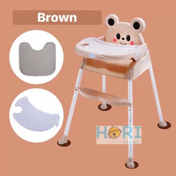 Jual Baby High Chair Portable Cartoon Kursi Makan Bayi Meja Makan Bayi Kota Batam Hori Store Tokopedia
