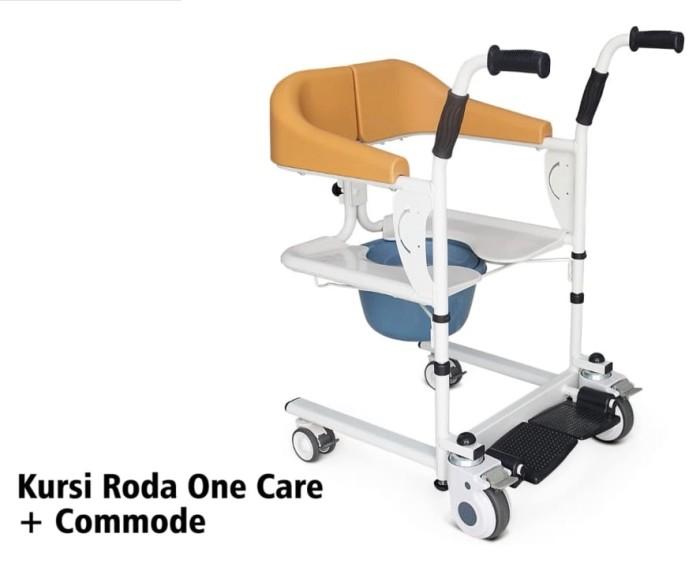 Foto Produk Kursi Roda One Care ALK902 + Commode / Onecare chair kursi bab + mandi dari Gudang Sehat Store