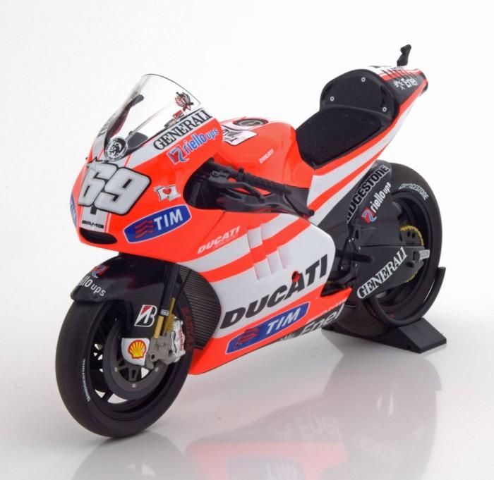 Ducati Desmosedici Valentino Rossi Valencia Press Version 2011 1:12 Model