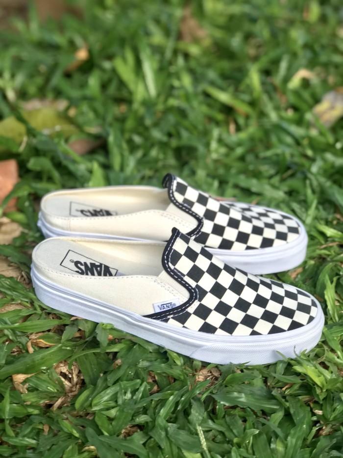 Jual Vans Slip On Mule Checkerboard