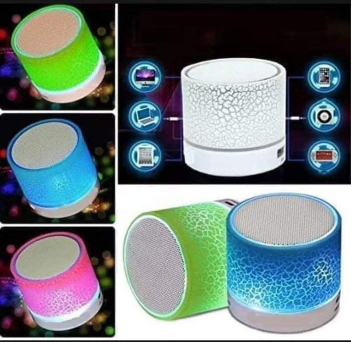 Foto Produk Speker Bluetoot Wireless LED Musik Box S10 dari Saven acc