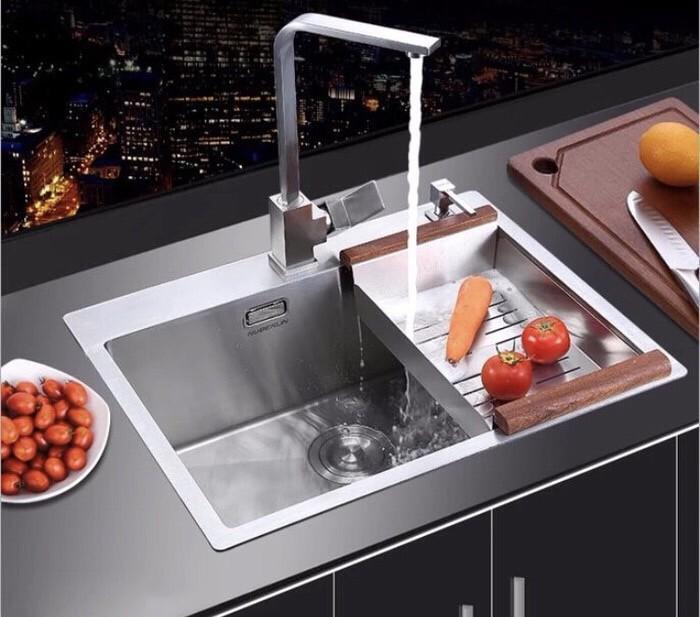 Foto Produk Kitchen sink ONAN Golden Hand 6045 / bak cuci piring stainless dari Sarana Jaya Utama