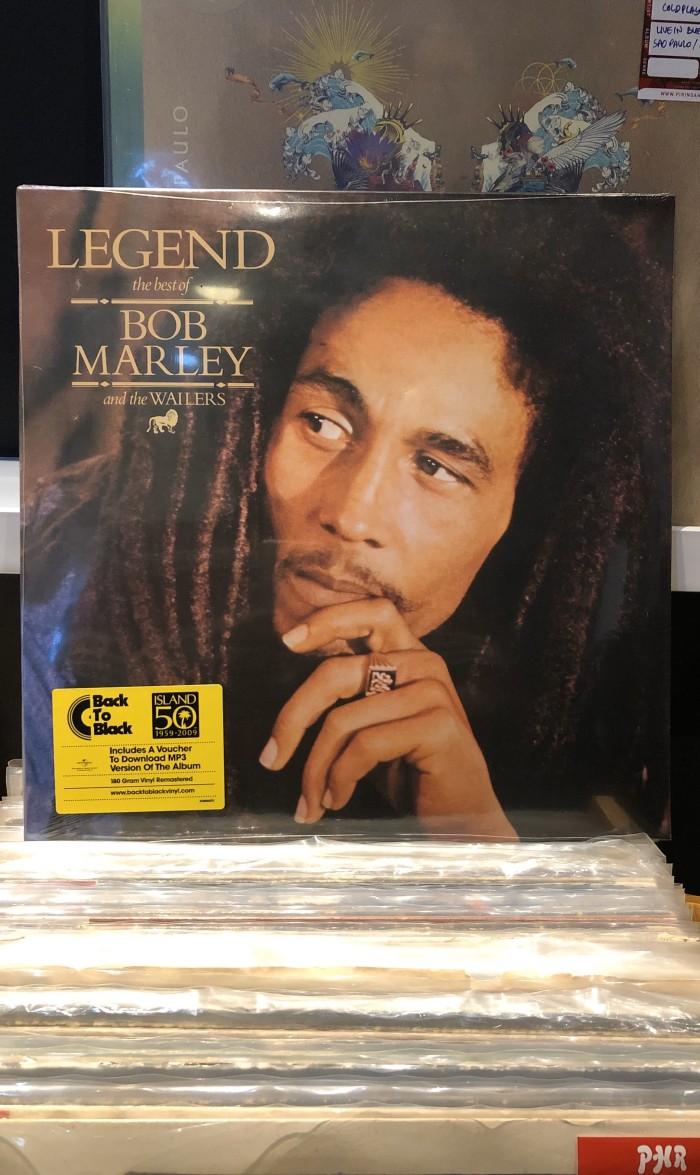 Jual Bob Marley Legend The Best [ Vinyl LP Piringan Hitam ] Jakarta Pusat PHRecordstore