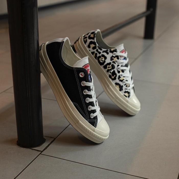 Jual Converse Chuck 70 Ox Logo leopard