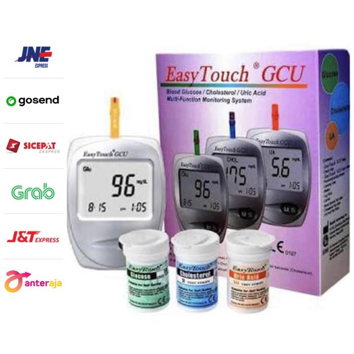 Foto Produk Alat Cek Gula Darah Kolesterol Asam Urat Easy Touch GCU 3 in 1 dari RalindoMed