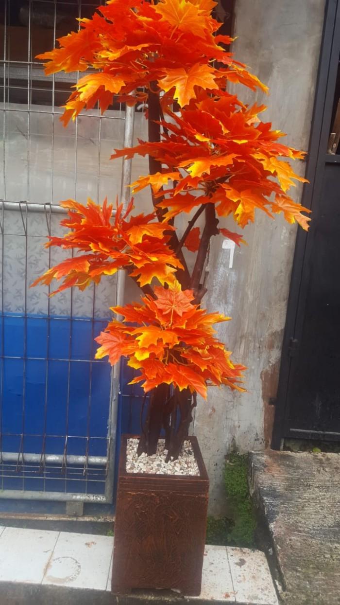 Jual Pohon Maple Daun Besar Dekorasi Bunga Plastik Kab Bogor Rinpai Store