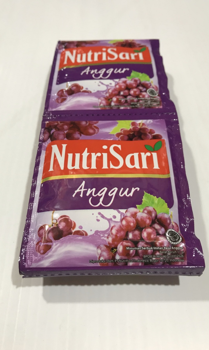 Jual Nutrisari Anggur 1 Renceng 10 Sachet Pcs Nutri Sari Rasa Grape Jakarta Selatan Ben Motoshop