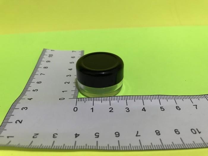 Foto Produk Pot cream salep kosmetik / slime 5 gram hitam natural transparan dari duplas store