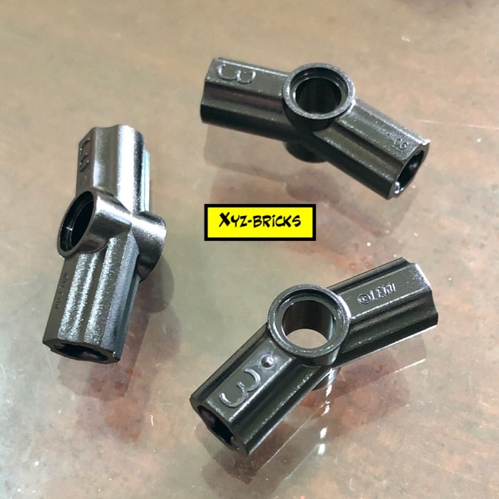 no.3 – 6261386 Parts /& Pieces 2 x Lego black Angle element 157.5 degrees