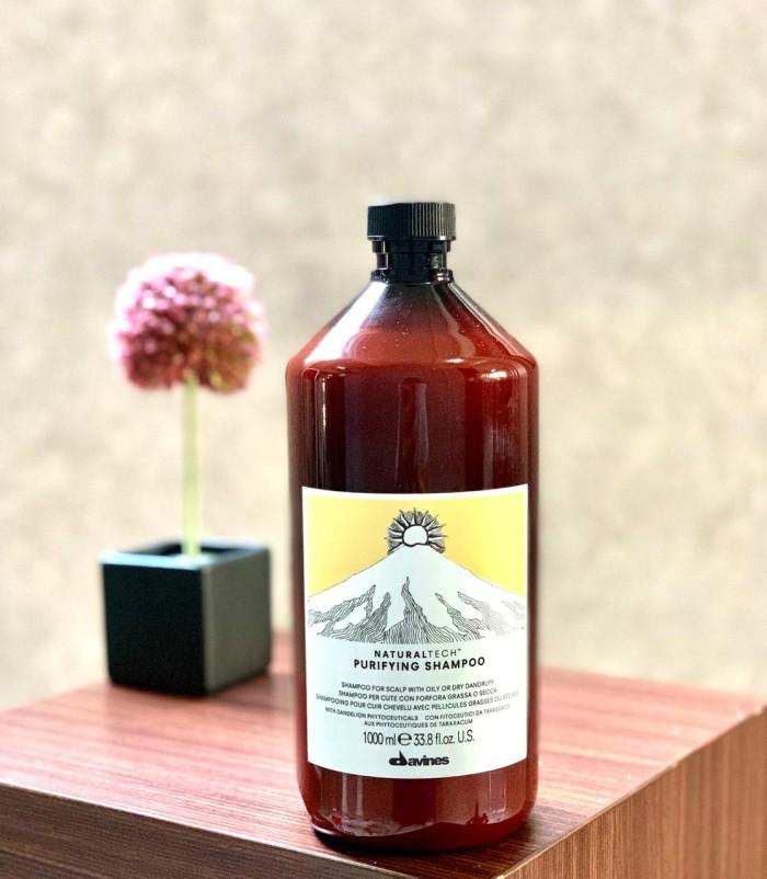 shampo anti ketombe Davines Naturaltech Purifying Shampoo