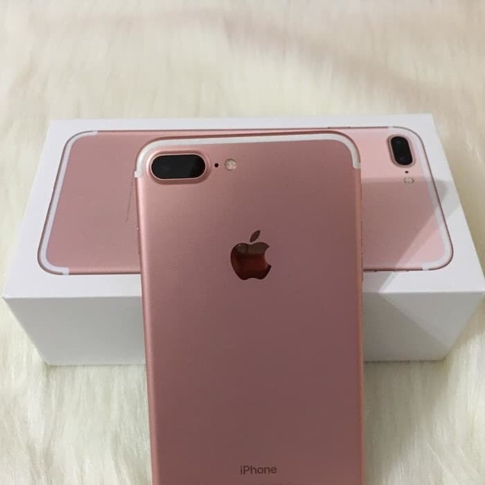 Foto Produk APPLE IPHONE 7 PLUS 128GB ROSE GOLD GARANSI 1 TAHUN dari Dovephone