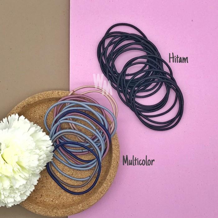 Foto Produk 20PCS Karet Ikat Rambut Polos Kecil - Mix Color dari WeMay Shop