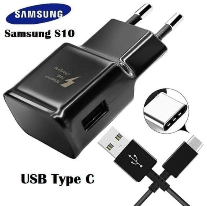 Foto Produk Charger / Casan Original 100% Samsung S8 / S8 Plus Type C Black Only dari LNA ACC