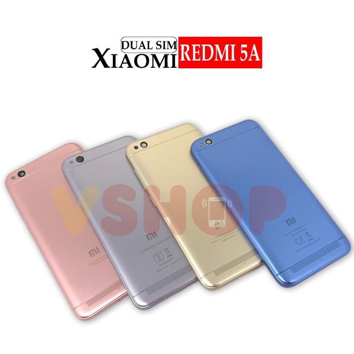 Foto Produk Backdoor Casing Belakang Tutupan Baterai Xiaomi Redmi 5A - Grey, Single Sim dari vshop sparepart