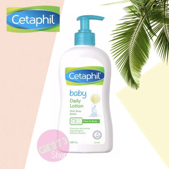 Foto Produk CETAPHIL Baby Daily Lotion with Shea Butter 400 ml Original dari Gie273