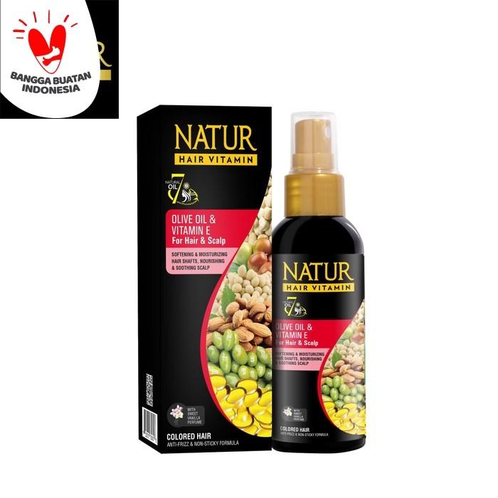Foto Produk Natur Hair Vitamin Olive Oil 80 ML dari Back To Natur