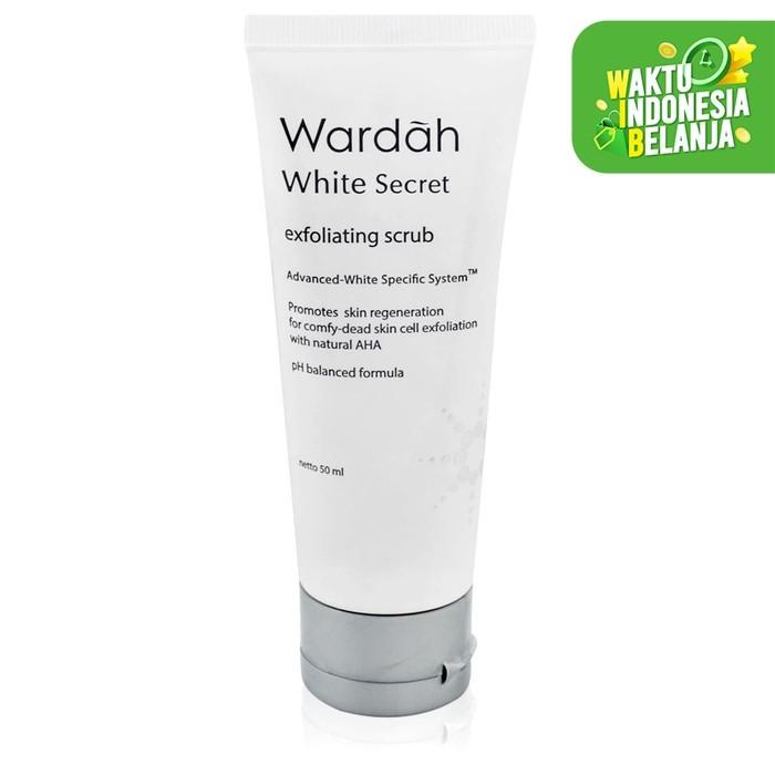 Foto Produk Wardah White Secret Exfoliating Scrub 50 ml dari Wardah Official
