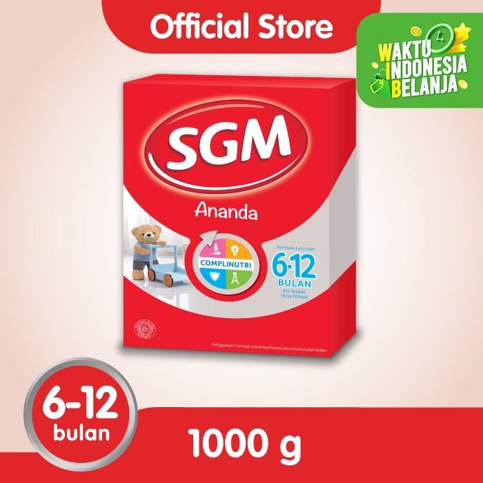 Foto Produk SGM Ananda 2 Susu Formula Bayi 6-12 Bln 1000g dari SGM Official Store